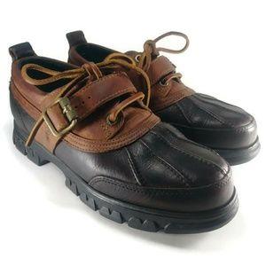 Ralph Lauren ClassicLeather Duck Boot Rain Shoe 8